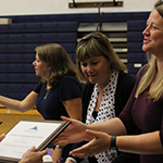 School board delivers awards to teachers