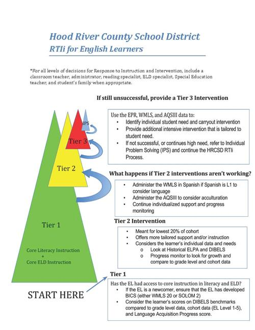 Response To Instruction And Intervention Iiib Ell Reading Rtii