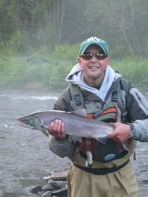 My first Alaskan salmon!
