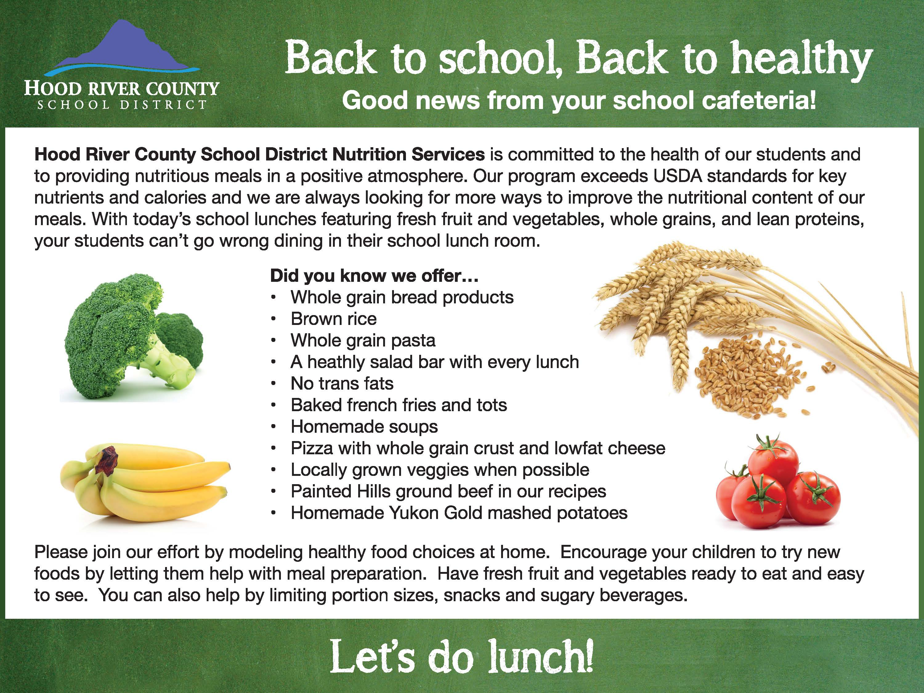 HRCSD Nutrition Services