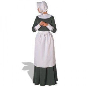 Picture of a Puritan Girl