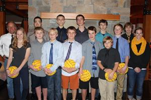2012 HRVHS Water Polo Team